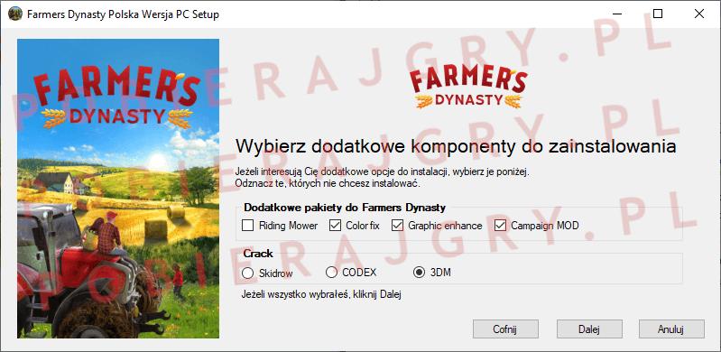 Farmers Dynasty Instalacja 3