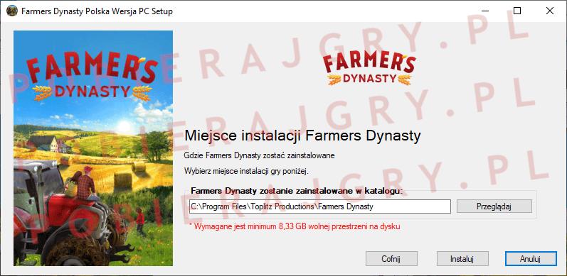 Farmers Dynasty Instalacja 4