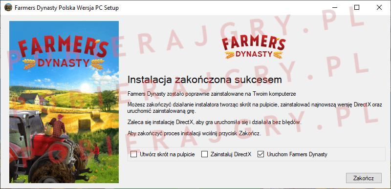 Farmers Dynasty Instalacja 7