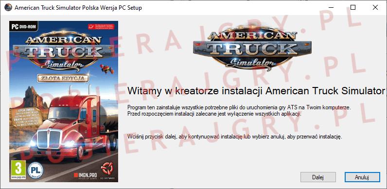 American Truck Simulator Instalacja 1