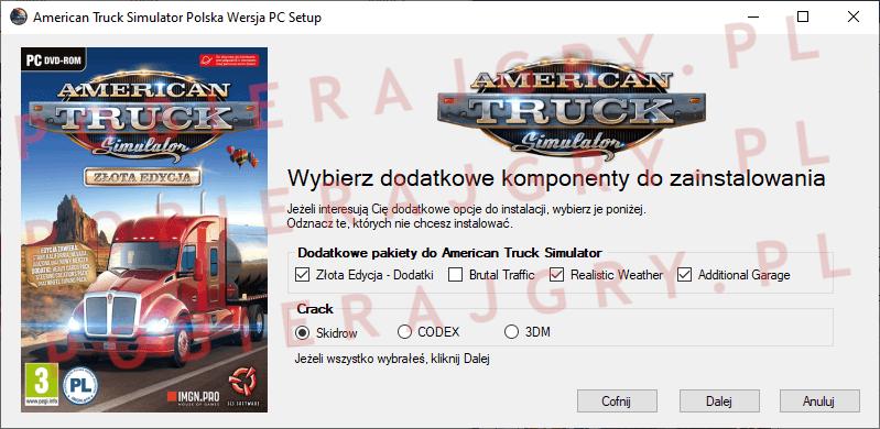 American Truck Simulator Instalacja 3