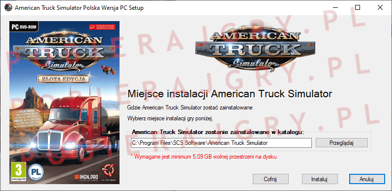 American Truck Simulator Instalacja 4
