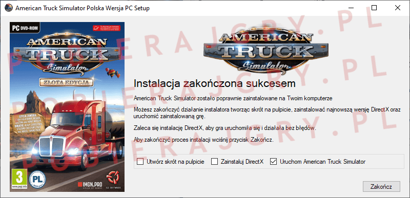 American Truck Simulator Instalacja 7