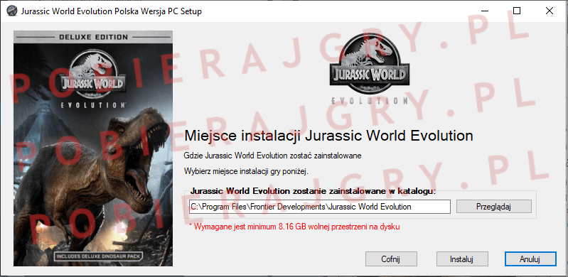 Jurassic World Evolution Instalacja 4