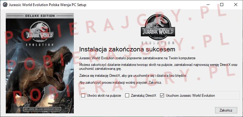 Jurassic World Evolution Instalacja 7