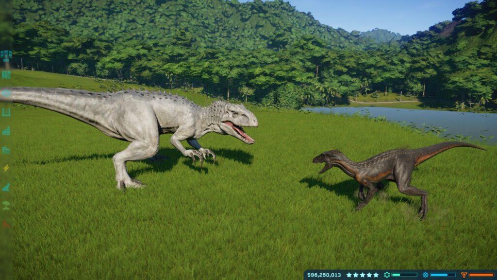 Jurassic World Evolution gra 1