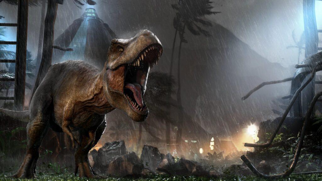 Jurassic World Evolution tapeta