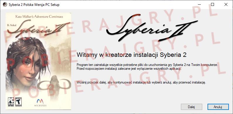 Syberia 2 Instalacja 1