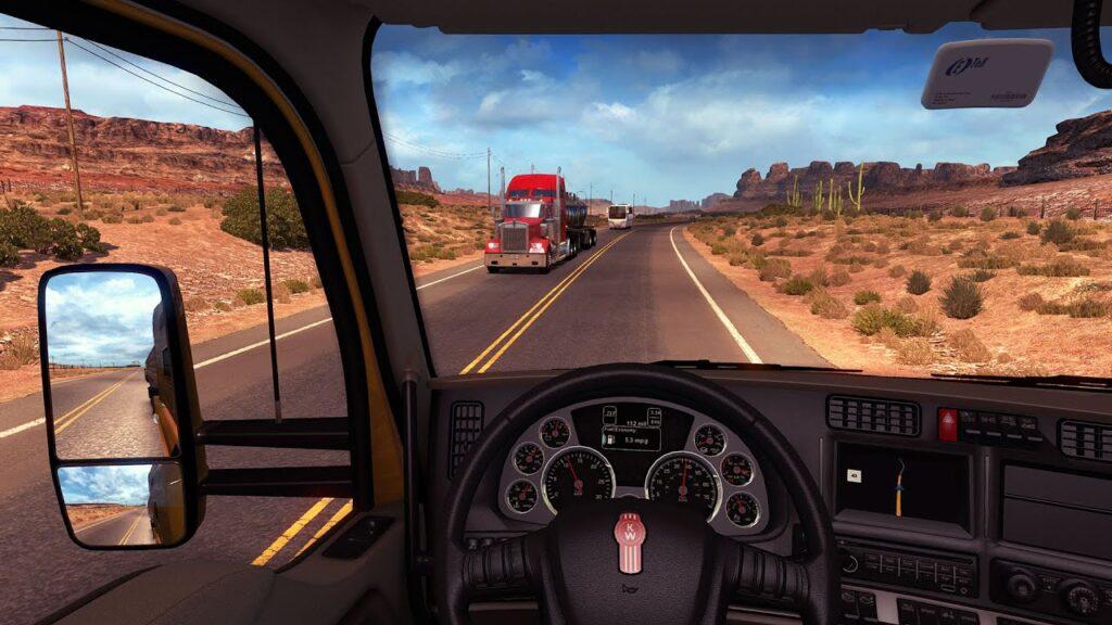 american truck simulator gra 2