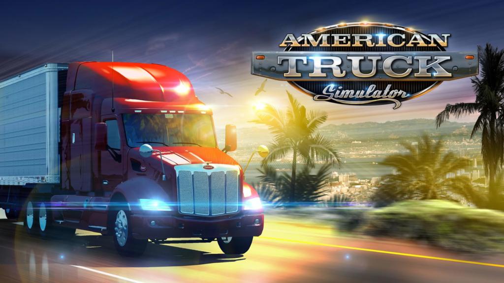 american truck simulator tapeta