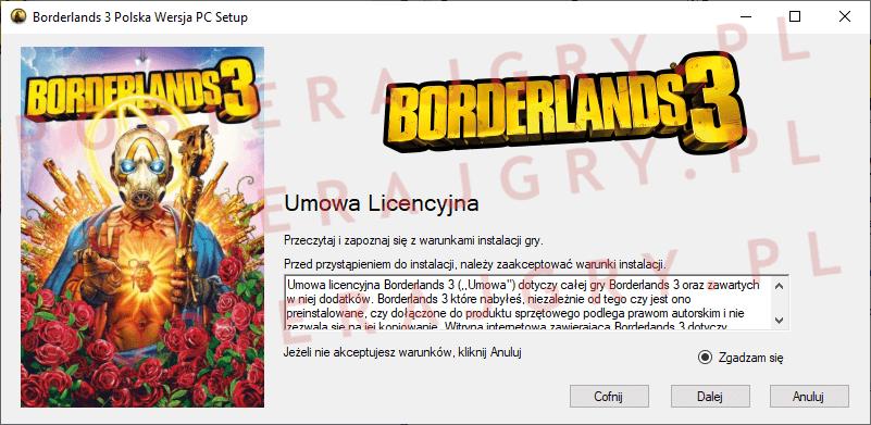 Borderlands 3 Instalacja 2