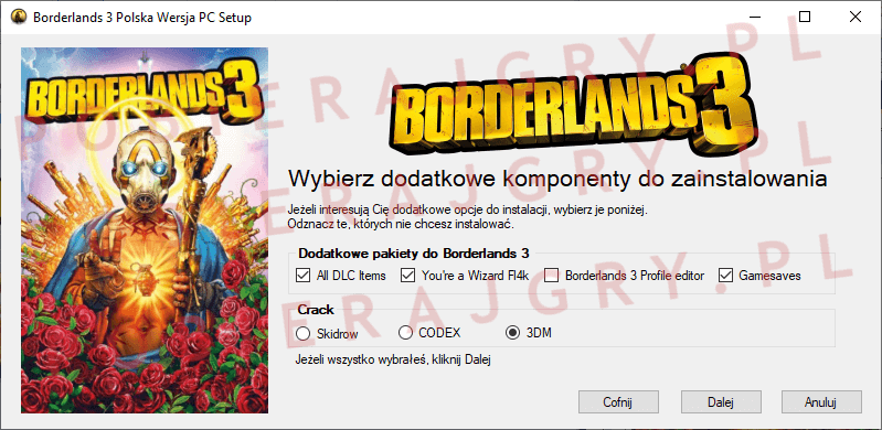 Borderlands 3 Instalacja 3