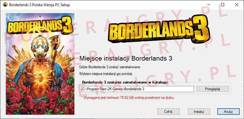 Borderlands 3 Instalacja 4