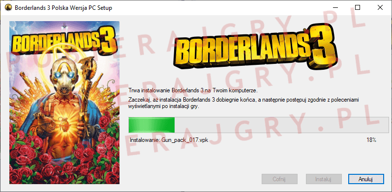 Borderlands 3 Instalacja 5