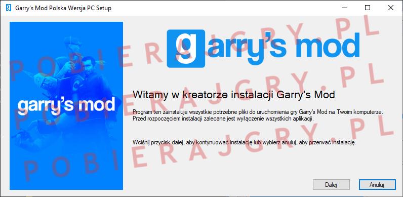 Garrys Mod Instalacja 1