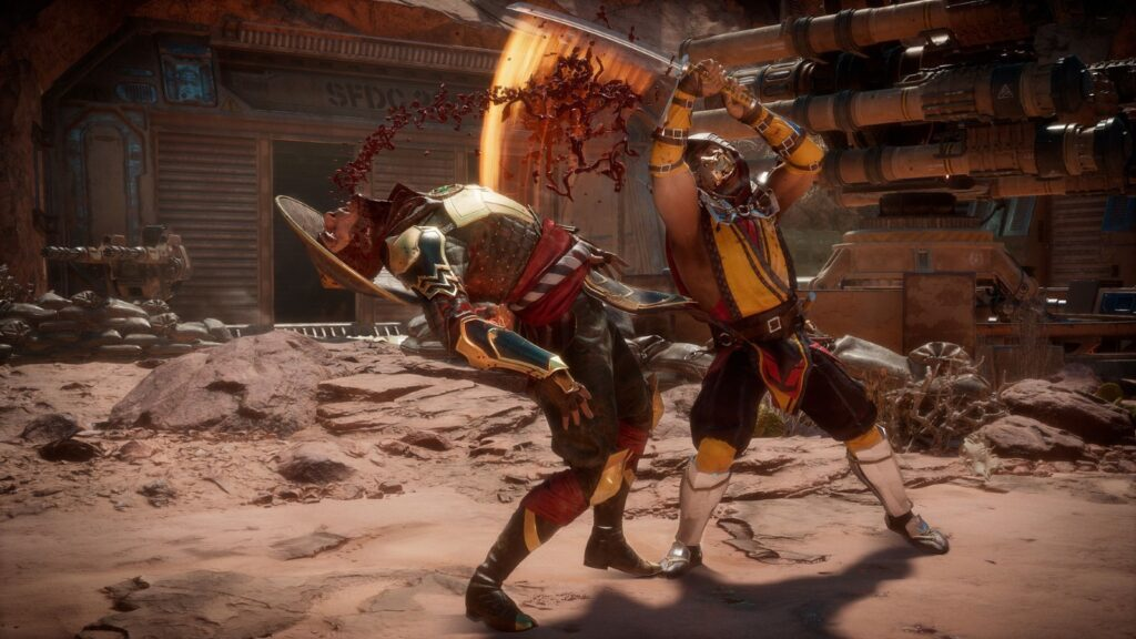 Mortal Kombat 11 gra 1
