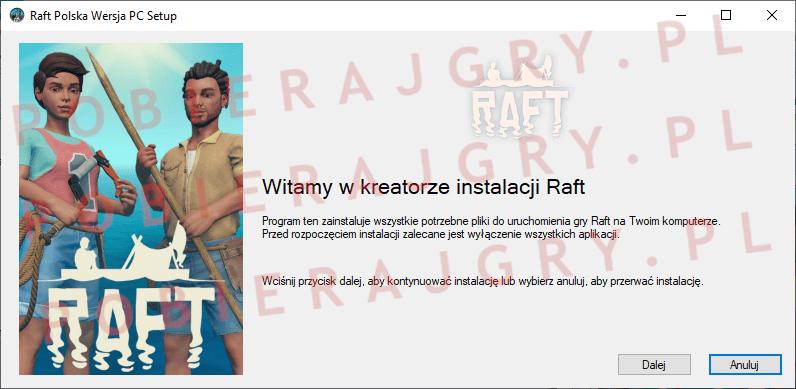 Raft Instalacja 1