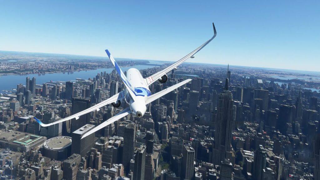 Flight simulator gra 1