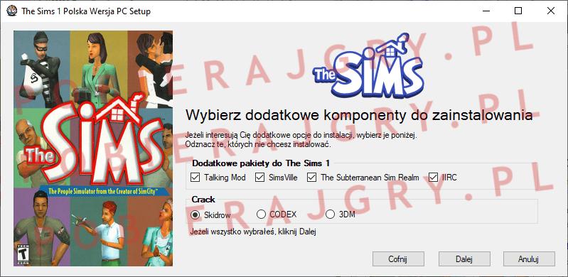The Sims 1 Instalacja 3