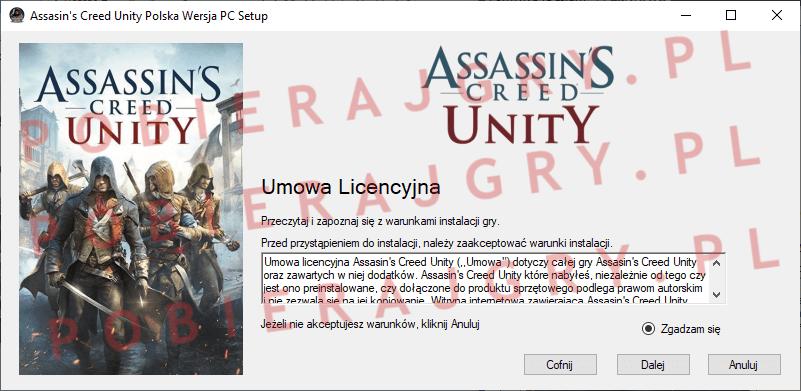 Assasin's Creed Unity Instalacja 2