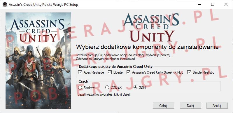 Assasin's Creed Unity Instalacja 3