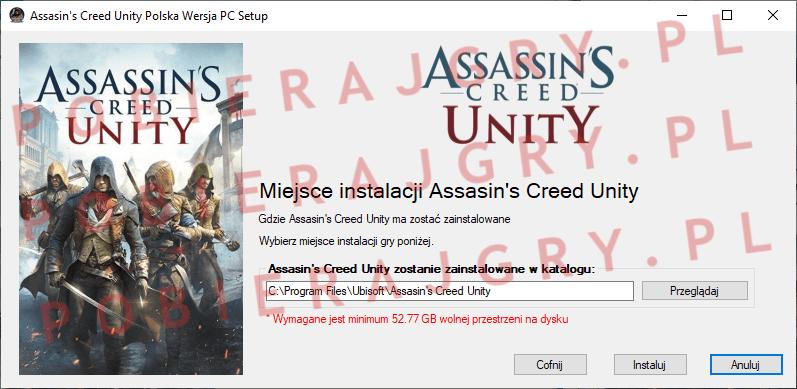 Assasin's Creed Unity Instalacja 4
