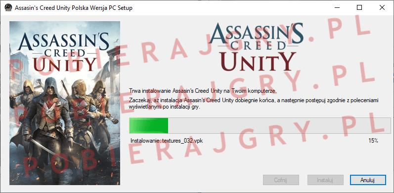 Assasin's Creed Unity Instalacja 5