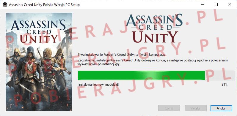 Assasin's Creed Unity Instalacja 6