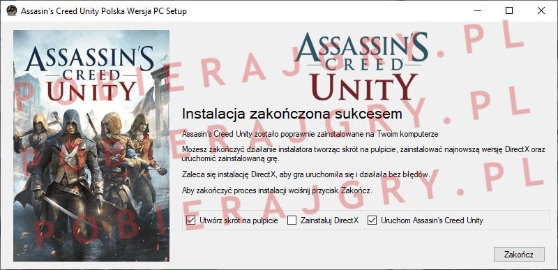 Assasin's Creed Unity Instalacja 7