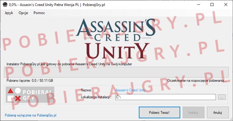 Assasin's Creed Unity Pobierz za darmo