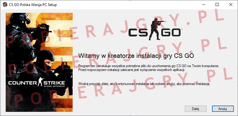 CS GO Instalacja 1