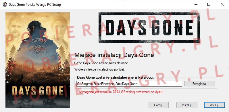 Days Gone Instalacja 4