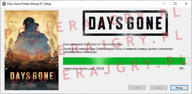 Days Gone Instalacja 6