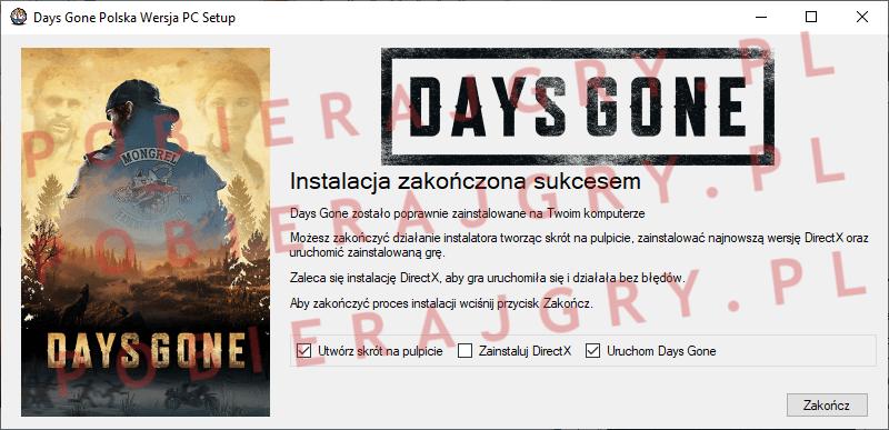 Days Gone Instalacja 7