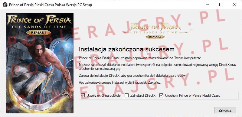 Prince of Persia Piaski Czasu Instalacja 7