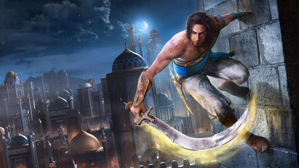 Prince of Persia Piaski Czasu Remake tapeta