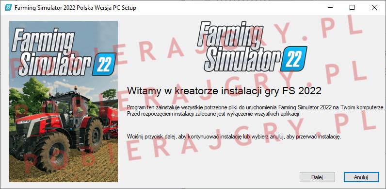 Farming Simulator 2022 Instalacja 1