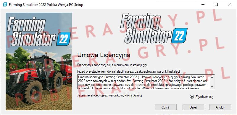 Farming Simulator 2022 Instalacja 2