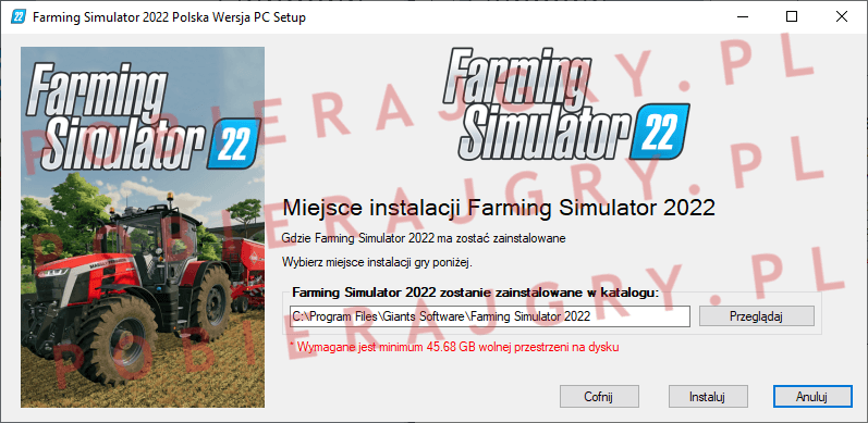 Farming Simulator 2022 Instalacja 4