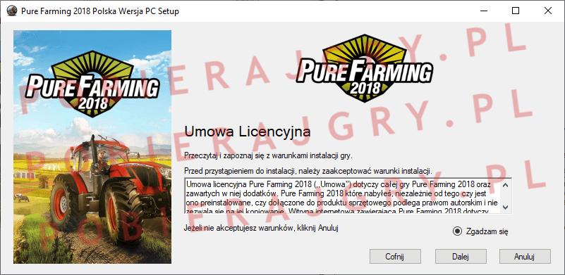 Pure Farming 2018 Instalacja 2
