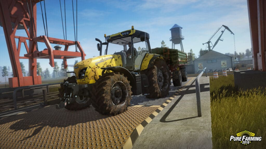 Pure Farming 2018 gra 2