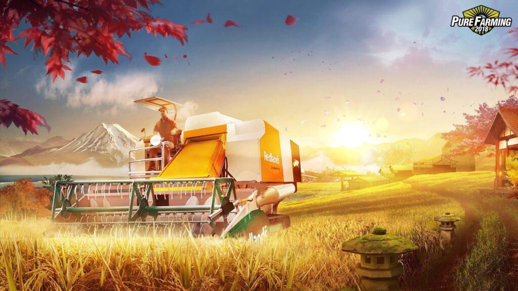Pure Farming 2018 tapeta