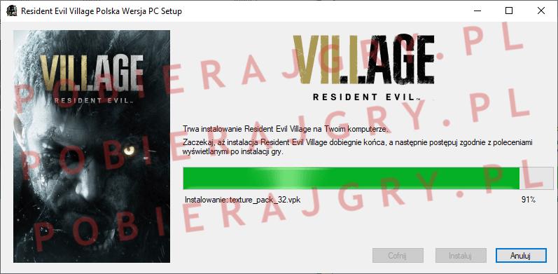 Resident Evil Village Instalacja 6