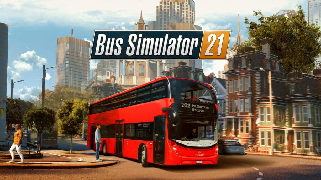 Bus Simulator 21 Tapeta