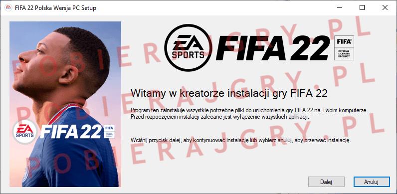 FIFA 22 Instalacja 1