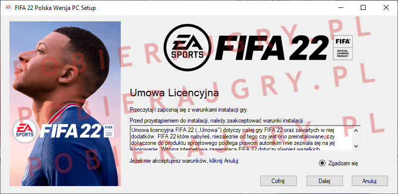 FIFA 22 Instalacja 2