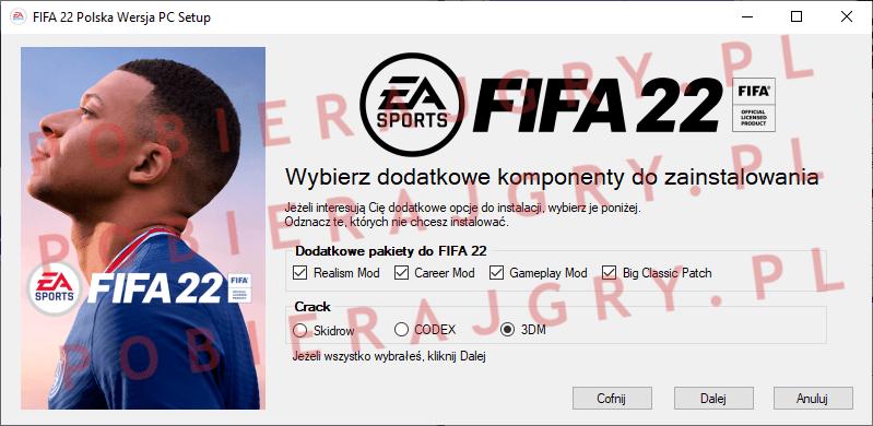 FIFA 22 Instalacja 3