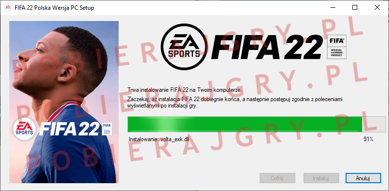 FIFA 22 Instalacja 6